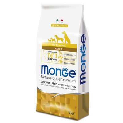 Monge Superpremium All Breeds Adult Pollo, Riso & Patate