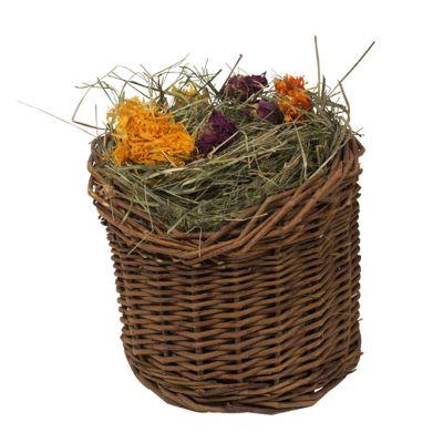 Mr woodfield cestino in rami di salice con foraggio zooplus for Rami di salice