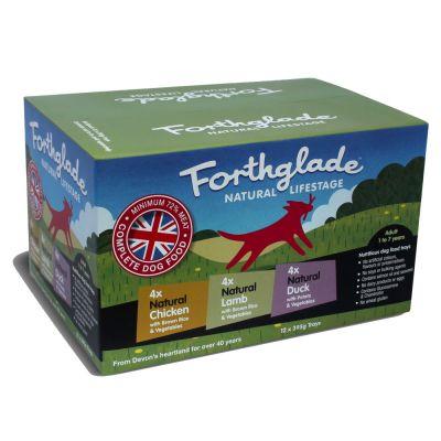 Forthglade Natural Lifestage Adult Multipack Great Deals