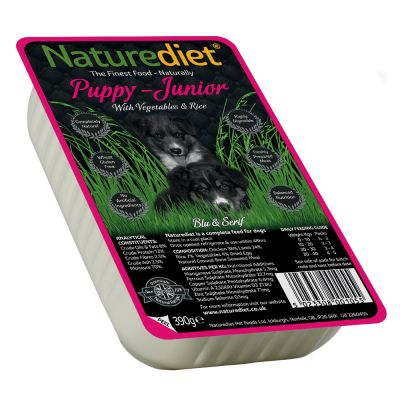 Naturediet Puppy/Junior 18 x 390 g