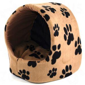 Igloo nicchia con cuscino cuccia letto x cani e gatti l34 - Cuccia per cani da interno fai da te ...