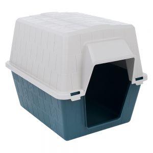 niche en plastique simply home pour chien. Black Bedroom Furniture Sets. Home Design Ideas