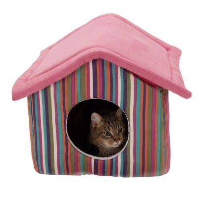 funny stripes niche pour chat et petit chien zooplus. Black Bedroom Furniture Sets. Home Design Ideas