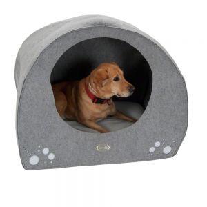 niche tissu grand chien introuvable. Black Bedroom Furniture Sets. Home Design Ideas