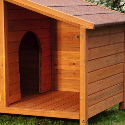 Spike sp cial niche pour chien zooplus for Cancelletto per cani da esterno