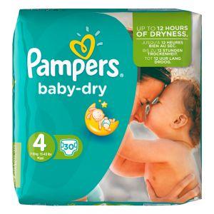 Pampers Windeln Baby-Dry Größe 4