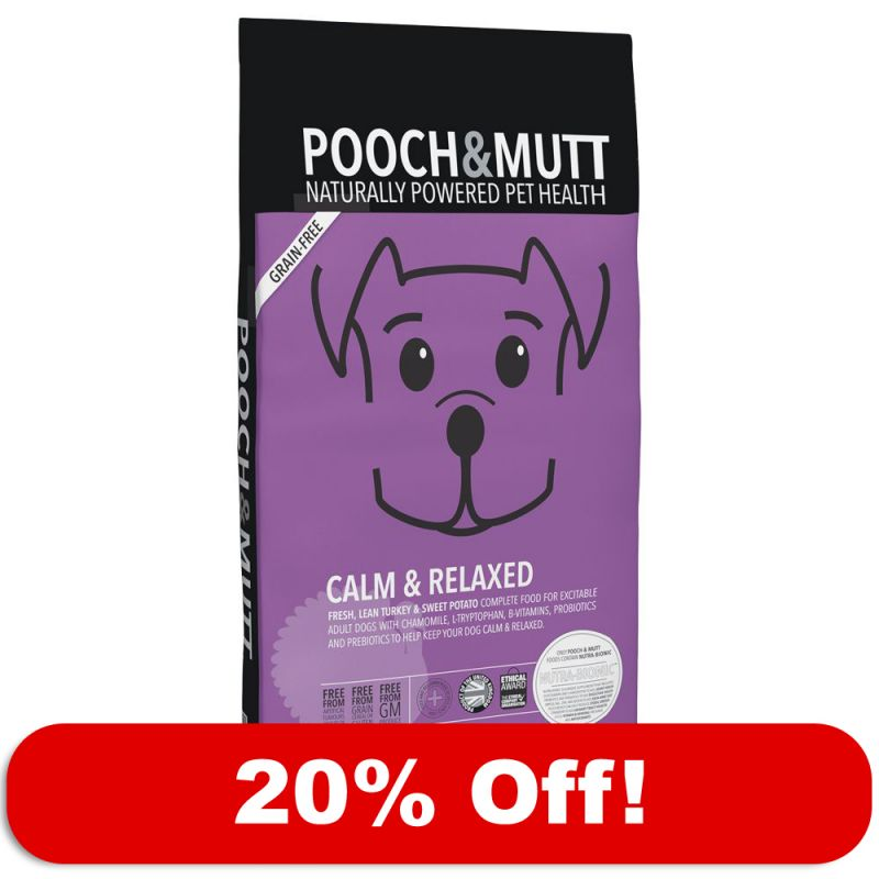 Pooch Amp Mutt Calm Amp Relaxed Free P Amp P 163 29 At Zooplus
