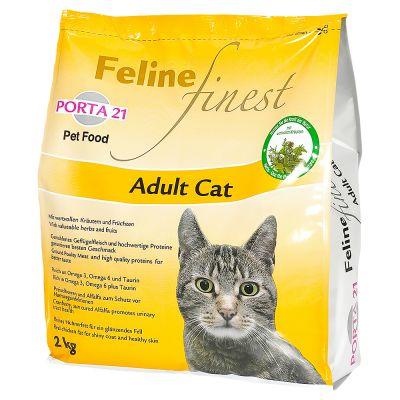 Porta 21 Feline Finest para gatos adultos