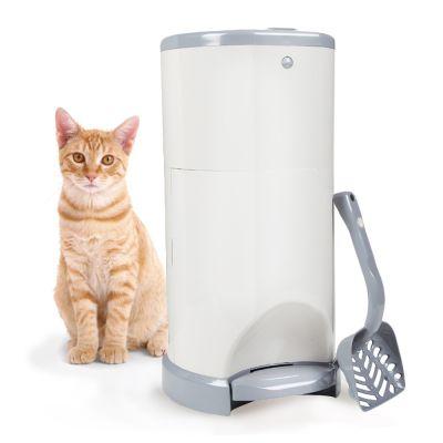 Poubelle litière chat