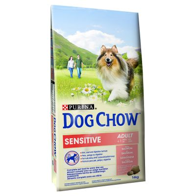 purina dog chow adult sensitive croquettes pour chien zooplus. Black Bedroom Furniture Sets. Home Design Ideas