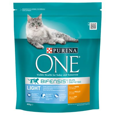Purina ONE Light Chicken & Wheat Dry Cat Food | Free P&P £ ...