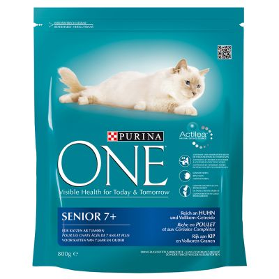 purina one senior 7 croquettes pour chat zooplus. Black Bedroom Furniture Sets. Home Design Ideas