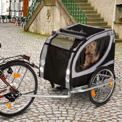 Rimorchio per bici No Limit Doggy Liner Paris Deluxe
