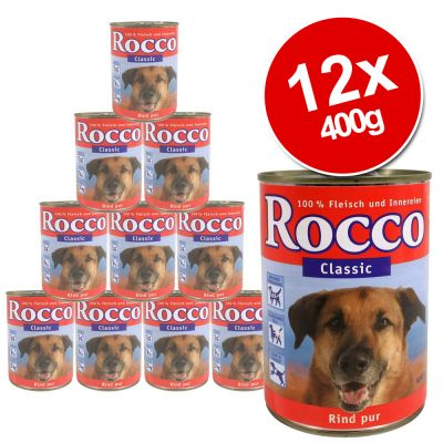 rocco classic saver pack 12 x 400g great deals at zooplus