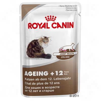 royal canin ageing 12 sachets fra cheur pour chat zooplus. Black Bedroom Furniture Sets. Home Design Ideas