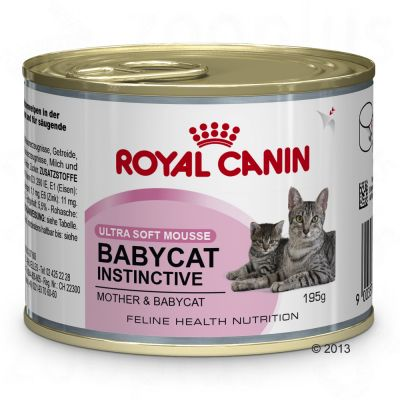 royal canin babycat instinctive mousse great deals at zooplus. Black Bedroom Furniture Sets. Home Design Ideas