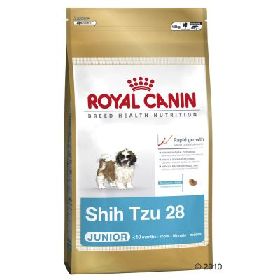 royal canin breed shih tzu junior croquettes pour chiot zooplus. Black Bedroom Furniture Sets. Home Design Ideas