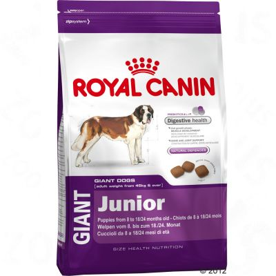 royal canin giant junior tanio w zooplus. Black Bedroom Furniture Sets. Home Design Ideas