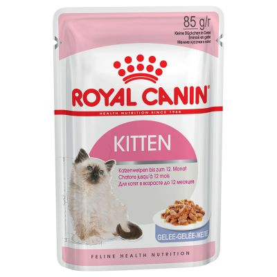 Royal Canin Kitten Instinctive in Gelatina