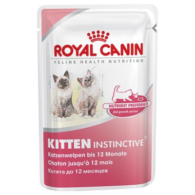 royal canin kitten instinctive with gravy great deals at zooplus. Black Bedroom Furniture Sets. Home Design Ideas