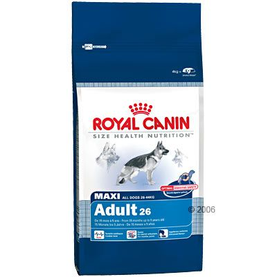 Royal canin maxi adult croquettes pour chien zooplus - Croquette royal canin maxi junior ...