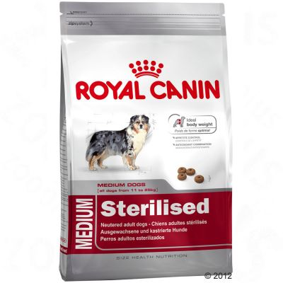 royal canin medium adult sterilised great deals at. Black Bedroom Furniture Sets. Home Design Ideas