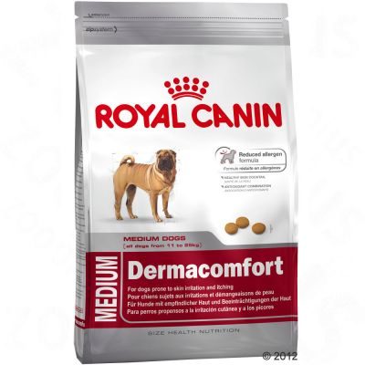 croquettes royal canin medium health nutrition dermacomfort zooplus be