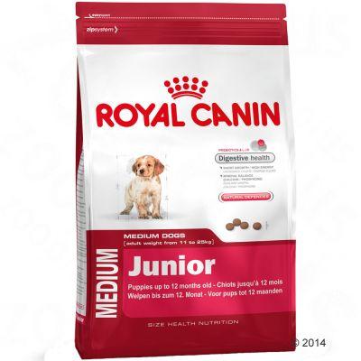 royal canin medium junior croquettes pour chiot zooplus. Black Bedroom Furniture Sets. Home Design Ideas