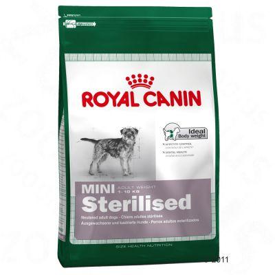 royal canin mini adult sterilised pienso para perros. Black Bedroom Furniture Sets. Home Design Ideas
