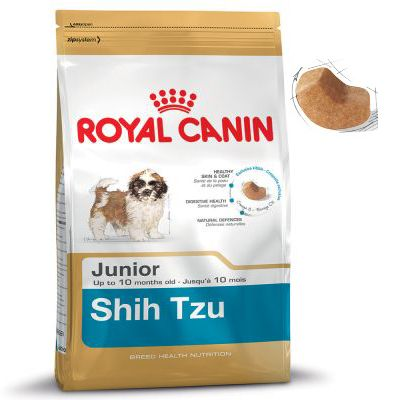 royal canin shih tzu junior free p p on orders 29 at zooplus. Black Bedroom Furniture Sets. Home Design Ideas