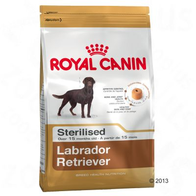 royal canin breed sterilised labrador retriever adult. Black Bedroom Furniture Sets. Home Design Ideas
