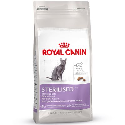 royal canin sterilised 37 croquettes pour chat zooplus. Black Bedroom Furniture Sets. Home Design Ideas