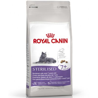 royal canin sterilised 7 croquettes pour chat zooplus. Black Bedroom Furniture Sets. Home Design Ideas