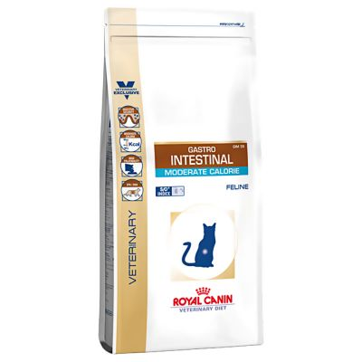 Royal Canin Gastro >> Royal Canin Gastro Intestinal Moderate Calorie GIM35 - Veterinary - Croquettes pour chat - zooplus