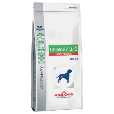 Royal Canin Veterinary Diet Urinary U/C low purine UUC 18 pour chien