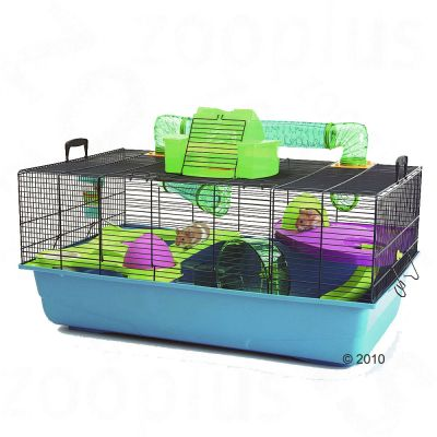 savic hamster heaven metro cage great deals at zooplus. Black Bedroom Furniture Sets. Home Design Ideas