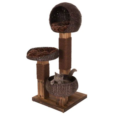 Cat Trees With Replacement Scratching Posts