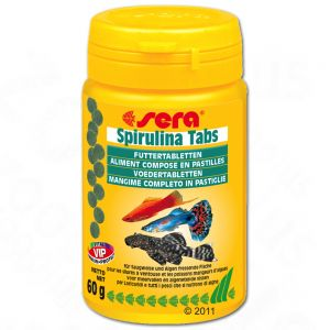 Great deals on fish food at zooplus sera spirulina food tabs for Spirulina fish food