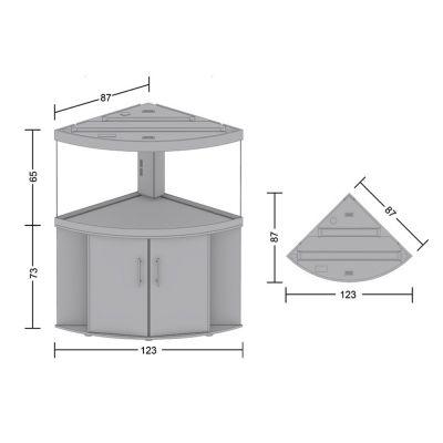 set acquario supporto juwel trigon 350 zooplus. Black Bedroom Furniture Sets. Home Design Ideas