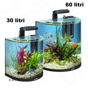 Set acquario tetra aquaart explorer line halfmoon zooplus for Acquari completi offerte