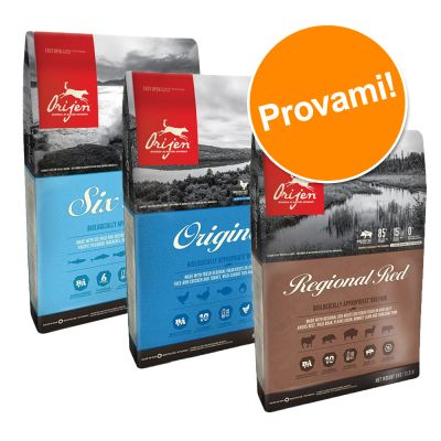 Set misto crocchette! Orijen Dog 3 x 2 kg