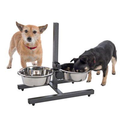 Supporto ciotole cani