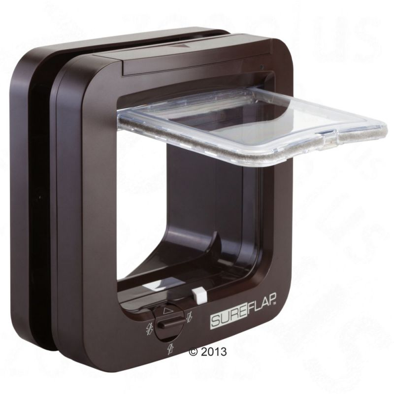 sureflap microchip cat flap free p p 29 at zooplus. Black Bedroom Furniture Sets. Home Design Ideas