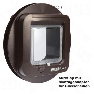 katzenklappen g nstig bei sureflap mikrochip. Black Bedroom Furniture Sets. Home Design Ideas