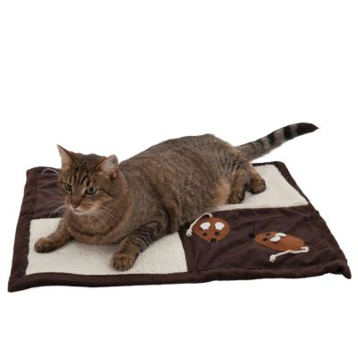 Patchwork Tapis Griffer Pour Chat Zooplus