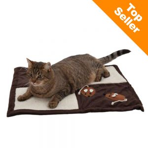 Tapis Griffer Patchwork Pour Chat