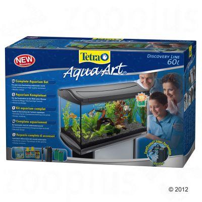 tetra aquaart aquarium komplett set 60 l g nstig bei zooplus. Black Bedroom Furniture Sets. Home Design Ideas