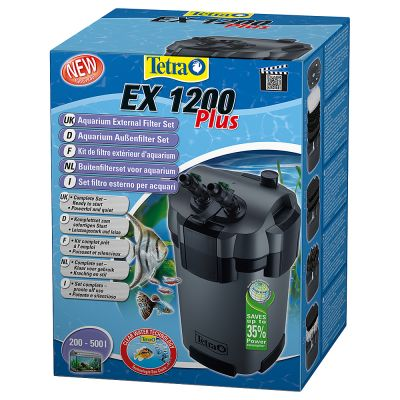 Tetra ex plus filtre ext rieur pour aquarium zooplus for Pompe aquarium exterieur