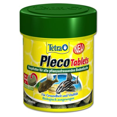Tetra pleco tablets free p p on orders 29 at zooplus for Sucker fish food