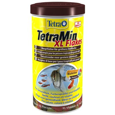Great deals on tetra fish flakes at zooplus tetramin xl for Purina tropical fish food